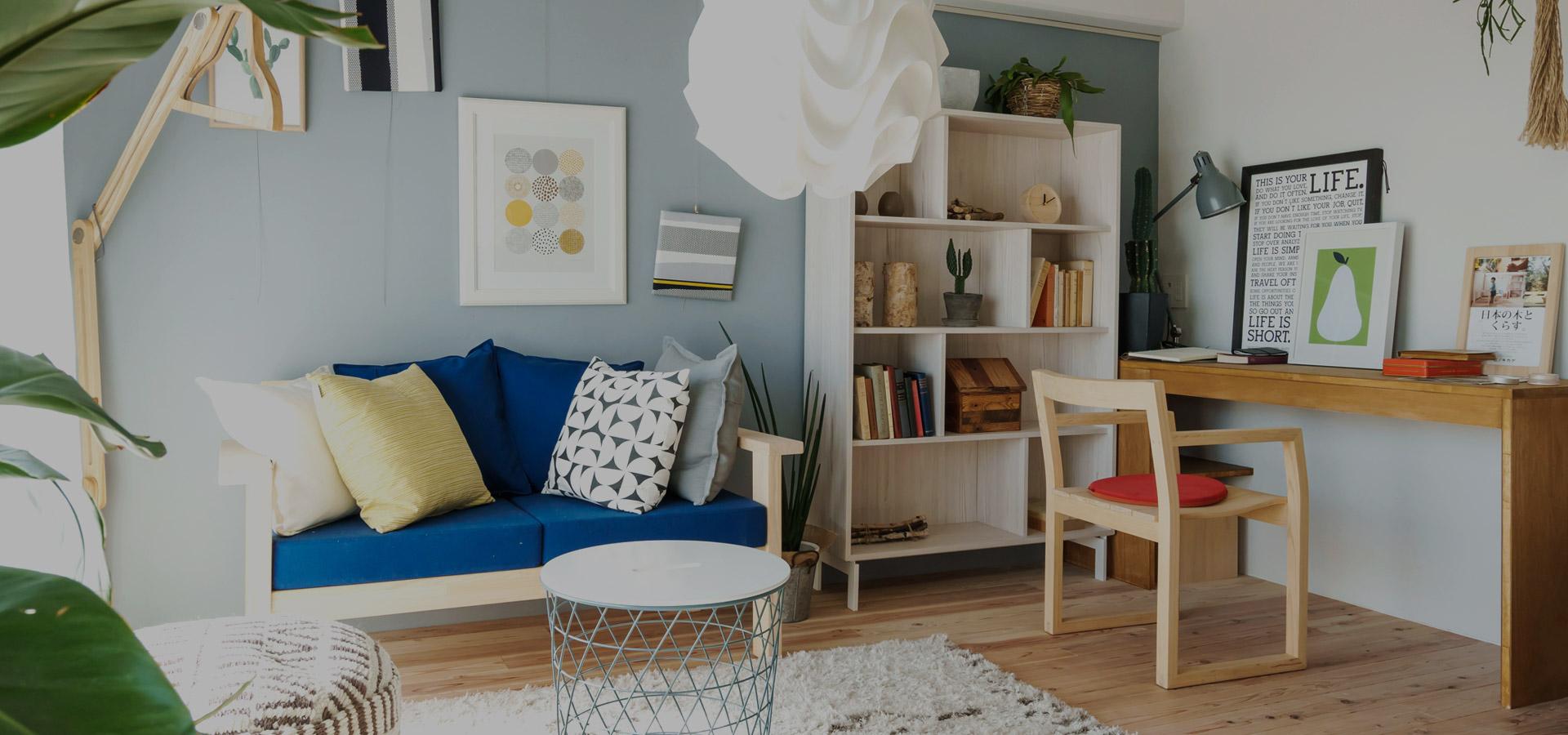 都市型生活をより便利に、より快適に 総合不動産ではお客様の家族構成や将来設計に合わせた物件のご紹介を心掛けています。